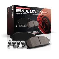 Power Stop Z23-636, Z23 Evolution Sport Carbon-Fiber Ceramic Rear Brake Pads