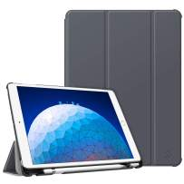 "Fintie Case for iPad Air (3rd Gen) 10.5"" 2019 / iPad Pro 10.5"" 2017 - [SlimShell] Ultra Lightweight Standing Protective Cover with Built-in Pencil Holder, Auto Wake/Sleep (Space Grey)"