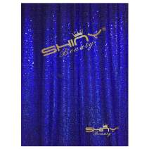 ShiDianYi 8 X 8, Ready to Dispatch,Sequin Backdrops, Sequin Photo Booth Backdrop, Party Backdrops,Wedding Backdrops, Sparkling Photography Prop (8ftx8ft, Royal Blue)