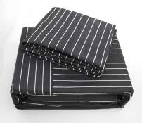 MARQUESS Microfiber Flannel Sheet Set-Ultra Soft & Comfortable Printed 4 Pieces Sheet, Breathable & Luxury Warm Bedding Collection, Fade Resistant & Easy Care(King, Charcoal Gypsophila)