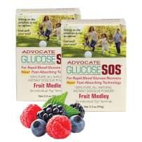 Support Blood Sugar Level & Blood Glucose W/Glucose SOS Dextrose Powder, A Natural Alternative to Glucose Gel and Glucose Tablets for Blood Sugar – Glucose Powder (2 Pack, Fruit Medley)
