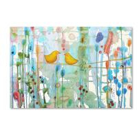 Dans Chaque Coeur by Sylvie Demers, 22x32-Inch Canvas Wall Art