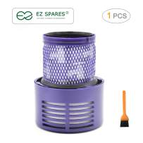 EZ SPARES Replacement for Dyson Cyclone V10 Filter, SV12 Cyclone Animal Absolute Total Attachment,Compare to Part # 969082-01