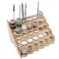 The Broken Token Modular Paint Rack (Straight 35mm Holes)