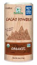 NATIERRAHimalaniaOrganic Cacao Powder Shaker   Non-GMO & Vegan    4 Ounce