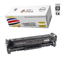 GLB Premium Quality Remanufactured Toner Cartridge Replacements for Canon 131H/131 High Yield Black 6273B001AA Canon ImageClass LBP7110Cw, MF8280Cw