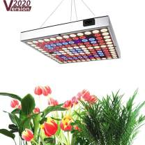 Grow Light for Indoor Plants,45W Sunlike Full Spectrum Plant Light with IR & UV LED for Seedlings/Succulents,Multiple Panels Can Be Connected (Size:9.9x9.9inches)