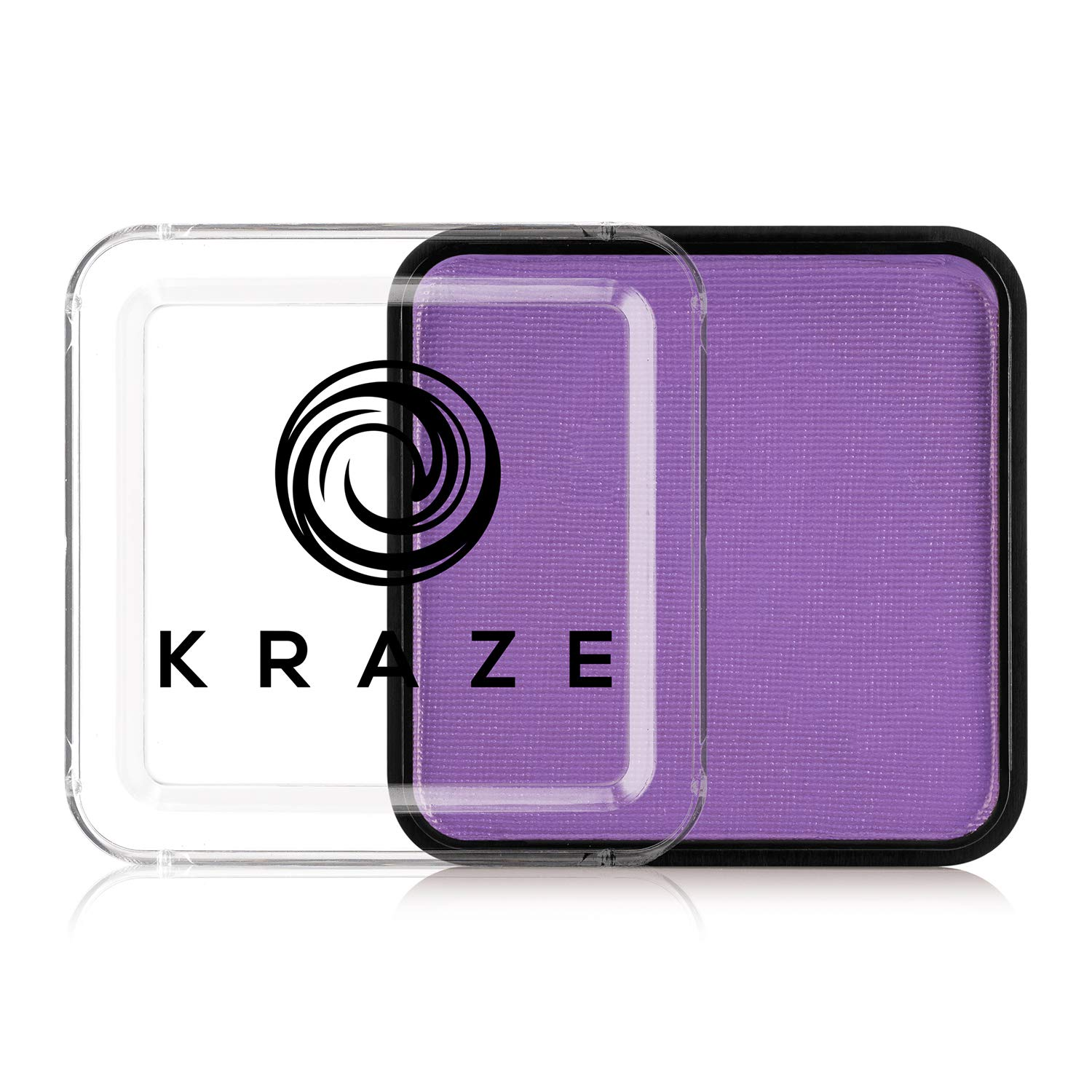 Kraze FX Square - Neon Purple (25 gm) - Water Activated, Professional UV Glow Blacklight Reactive Face Painting Colors, Hypoallergenic, Safe, Washable Fluorescent Face & Body Paint