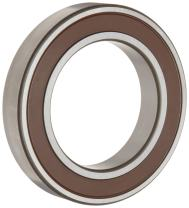 Timken 9108PP Ball Bearing, Double Sealed, No Snap Ring, Metric, 40 mm ID, 68 mm OD, 15 mm Width, Max RPM, 2750 lbs Static Load Capacity, 4500 lbs Dynamic Load Capacity