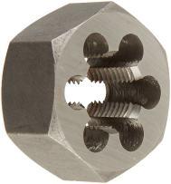 "Drill America 7/16""-20 Carbon Steel Hex Rethreading Die, DWT Series"