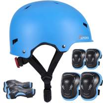 Skateboard Helmet, Multi-Sports Bike Cycling Skate Scooter Helmets for Kids, Youth and Adults - Impact Resistance Ventilation, 3 Sizes