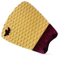 Wave Tribe Cork Surfboard Traction Pad - Eco Deck Pad, Soft of Knees, Great Grip & Stomp, Better for Planet