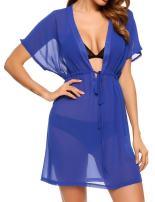 Avidlove Swimsuit Cover Ups for Women Bikini Cardigan Chiffon Kimono Sheer Beach Coverup