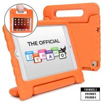 Cooper Dynamo [Rugged Kids Case] Protective Case for iPad Mini 5 4 | Child Proof Cover with Stand, Large Handle, Screen Protector (Orange)