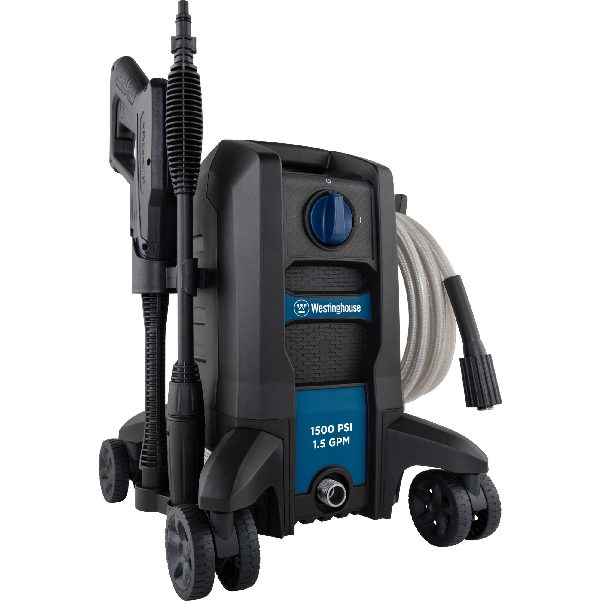 Westinghouse ePX2000 Electric Pressure Washer 1500 MAX PSI 1.5 Max GPM with Anti-Tipping Technology, Foam Cannon with Adjustable Spray
