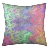 ArtVerse Katelyn Elizabeth Planets & Stars Floor Pillow - Square Tufted, 26 x 26, Alternate Multicolor