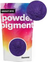 Hemway Grout Dye Pigment Concrete Colour Powder Render Mortar Pointing Powdered Brick Toner (1.8oz / 50g, Metallic Purple Violet)
