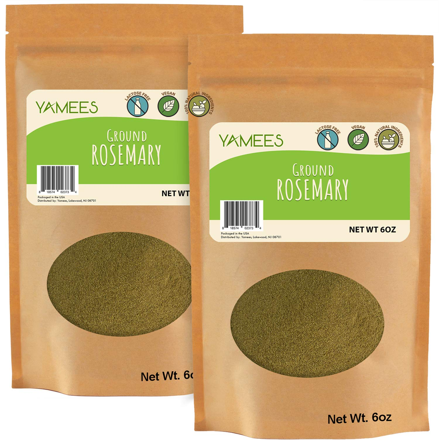Rosemary Powder - 12 Oz (6 Oz Each) – Ground Rosemary – Dried Rosemary Powder – Powder Rosemary – Rosemary Ground - Bulk Spices