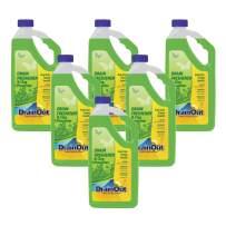 DrainOUT Drain Freshener & Clog Preventer, 32 Fl. Oz. Bottle, 6 Pack