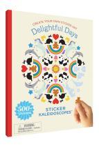 Mrs. Grossman's Sticker Kaleidoscopes Art Activity Book, Delightful Days, Multicolor