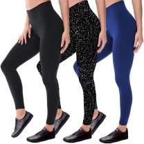 Black Leggings for Women Butt Lift-Workout High Waisted Leggings Womens Yoga Pants