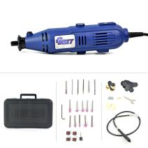 Variable Speed Electric Rotary Tool Kit With Flex Shaft 105-Piece Accessory Storage Case