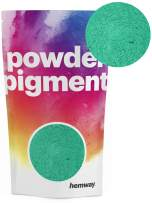 Hemway Pigment Powder Colour Luxury Ultra-Sparkle Dye Metallic Pigments for Epoxy Resin, Polyurethane Paint (Metallic Jade Green, 50g / 1.75oz)