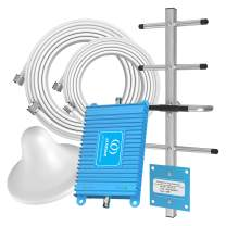 AT&T Cell Phone Signal Booster 4G LTE 700MHz Band 12/17 FDD Mobile Signal Repeater Amplifier Antenna Kits Compatible with T-Mobile, Straight Talk for Home and Offfice