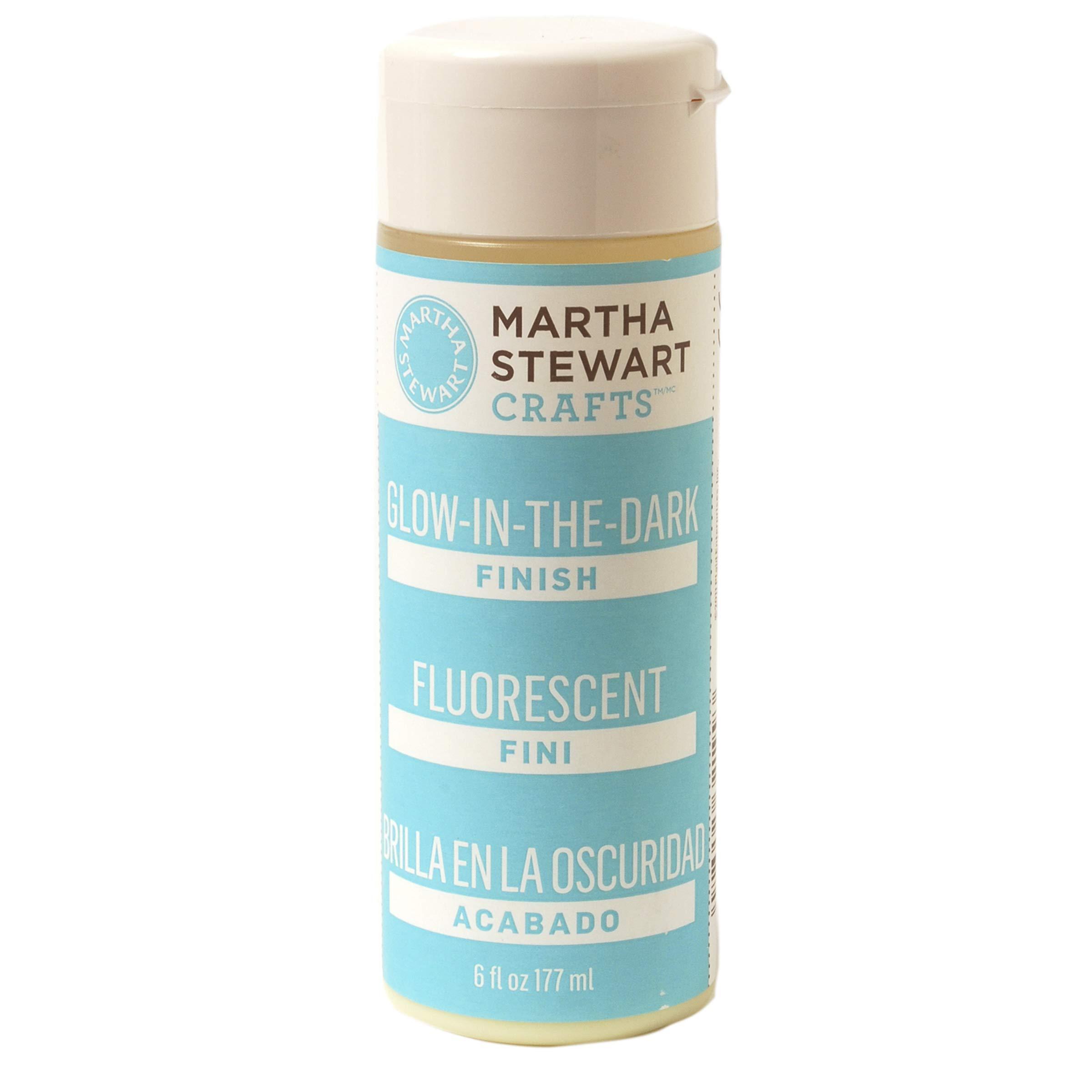 Martha Stewart Crafts Martha Stewart Glow-in-The-Dark Finish, 6 Ounces Paint, 6 oz