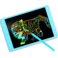 LCD Writing Tablet 11 Inch Digital Electronic Graphic Drawing Tablet Erasable Portable Doodle Writing Board for Kids Christmas Birthday Gifts (11 Inch, Light Blue)