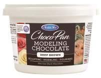 Satin Ice ChocoPan Deep Brown Modeling Chocolate, 1 Pound