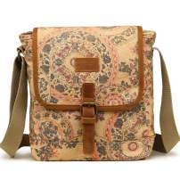 Kemy's Women Canvas Crossbody Bag for Travel, Small