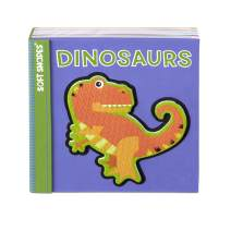 Melissa & Doug Children's Book - Soft Shapes: Dinosaurs (Foam First Puzzle Book)