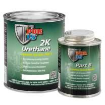 POR-15 43404 Gloss White 2K Urethane - Part A 1 quart, Part B 8oz (One-Half Pint)
