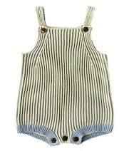 Pinleck Newborn Baby Girls Knit Romper Long Sleeve Sweater Bowknot Bodysuit Jumpsuit