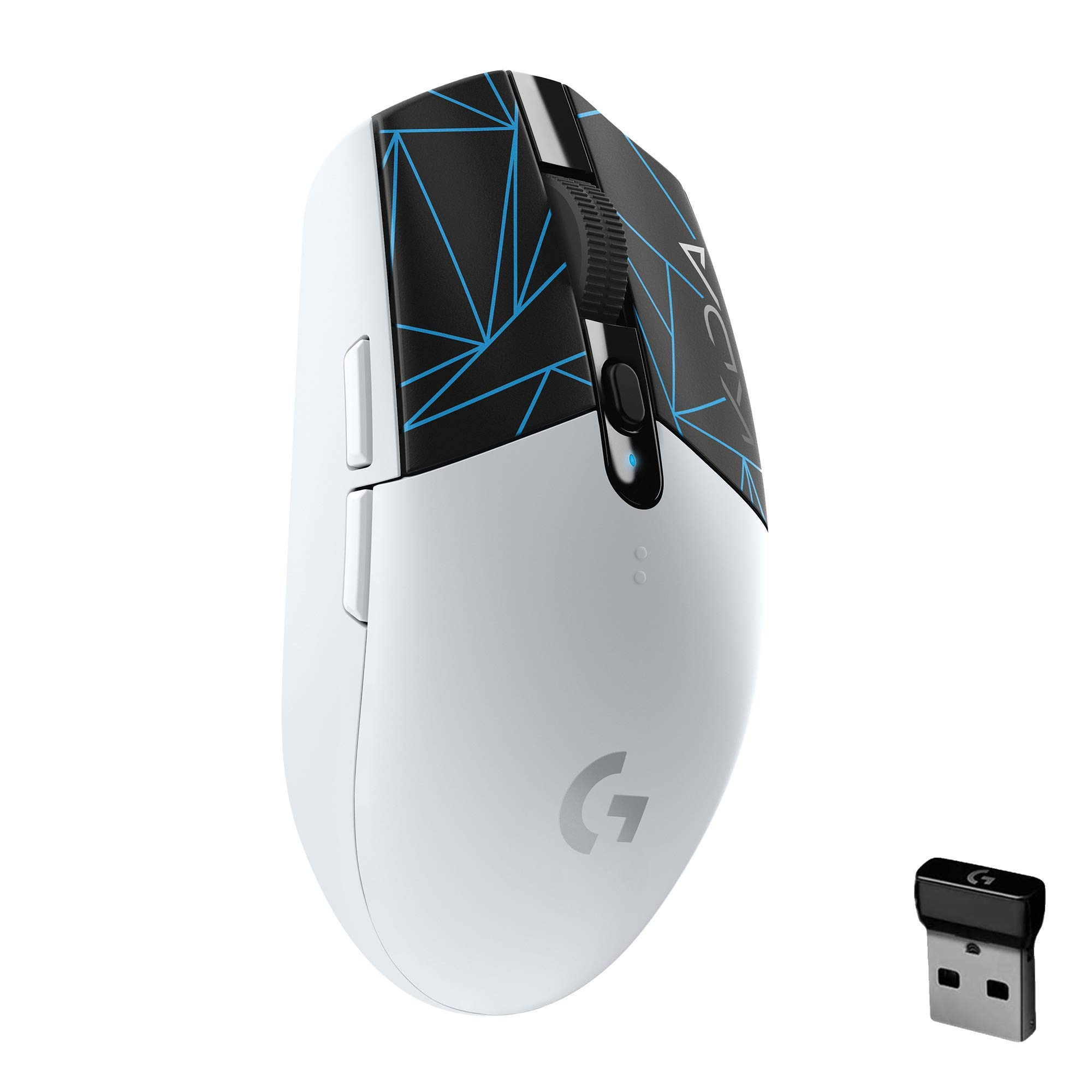Logitech G305 K/DA Lightspeed Wireless Gaming Mouse - Official League of Legends KDA Gaming Gear - HERO 12,000 DPI, 6 Programmable Buttons, 250h Battery Life, On-Board Memory, Compatible with PC / Mac
