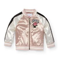 The Children's Place Baby Girls Satin Bomber Jacket