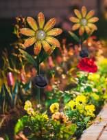Afirst Solar Lights Outdoor Garden Stake Flower Lights Christmas Yard Decoration Sunflower 1 Pack
