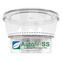 Autofil 1151-RLS Bottle Top Filtration Funnel, 250 ml, 0.2 micrometer PES (Pack of 24)