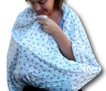 Nursing Scarf for Breastfeeding | Infinity Nursing Cover Hides Back for Privacy