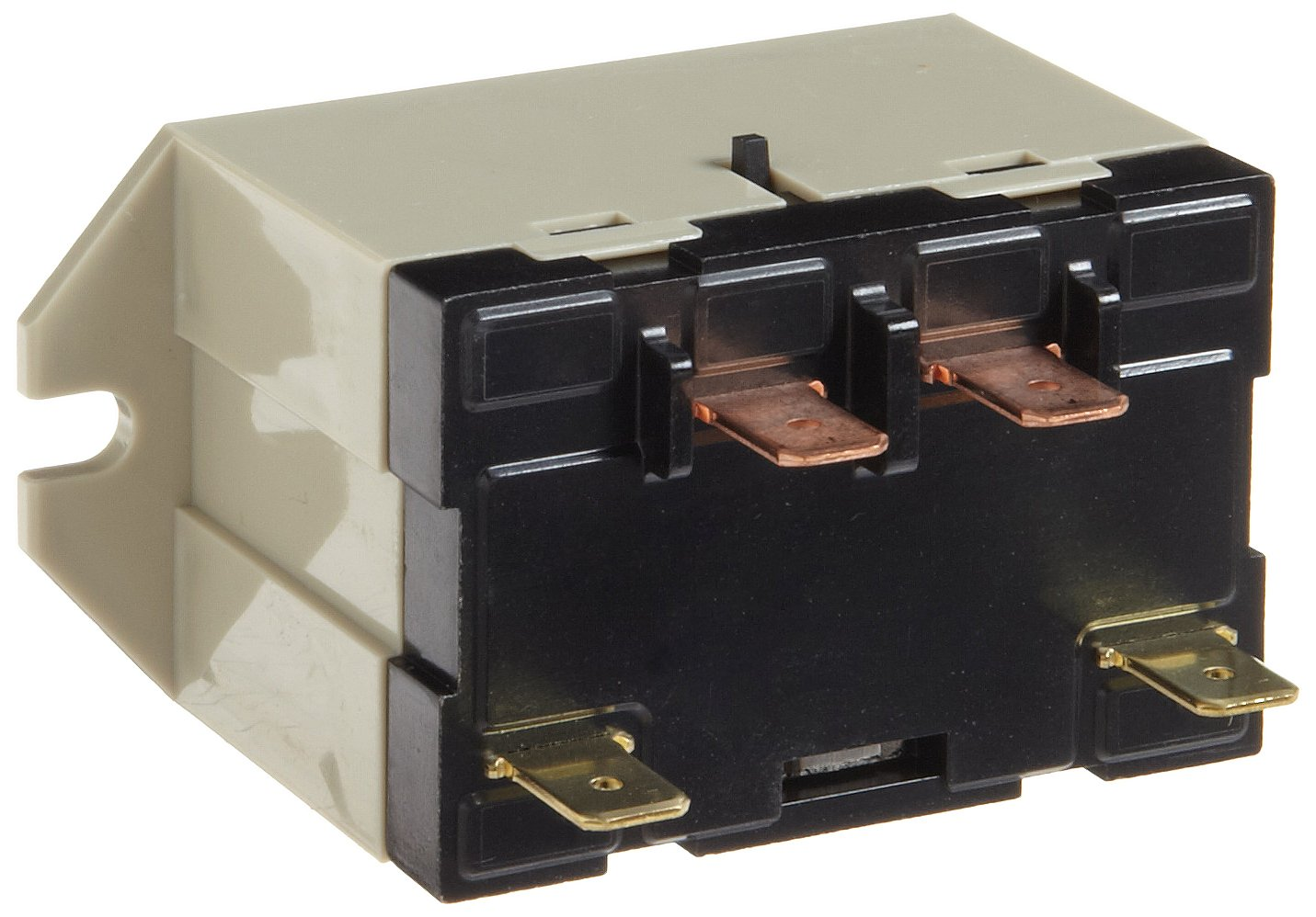 Omron G7L-1A-TUB-J-CB-DC12 General Purpose Relay With Test Button, Class B Insulation, QuickConnect Terminal, Upper Bracket Mounting, Single Pole Single Throw Normally Open Contacts, 158 mA Rated Load Current, 12 VDC Rated Load Voltage