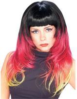 Tri-Color Sunburst Wig
