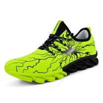 QANSI Men's Tennis Shoes Spiderman Graffiti Fashion Sneakers Breathable Sports Running Shoes for Basketball