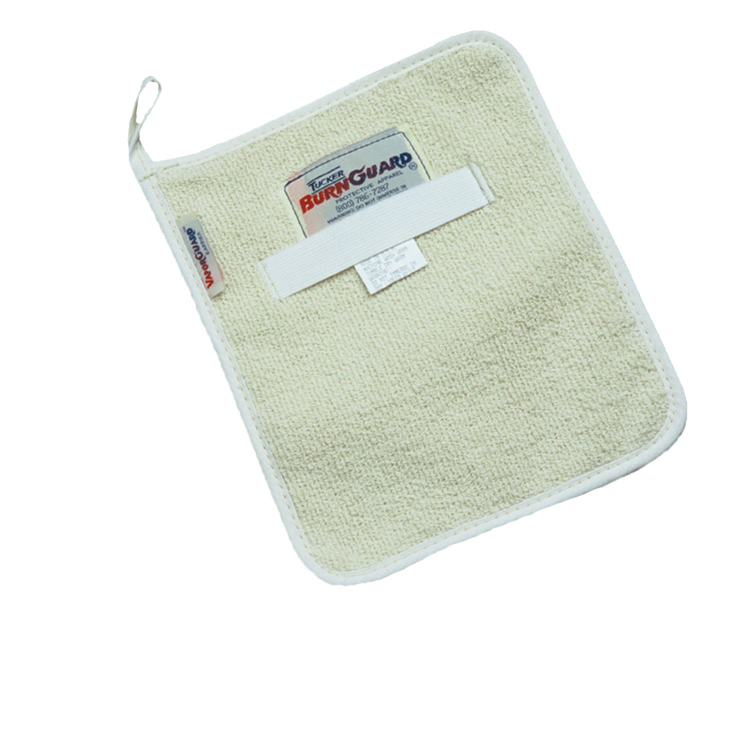 """Tucker Safety 88500 Products Tucker BurnGuard Terry Baker's Hot Pads, Each, 8"""" x 10"""", Natural"""
