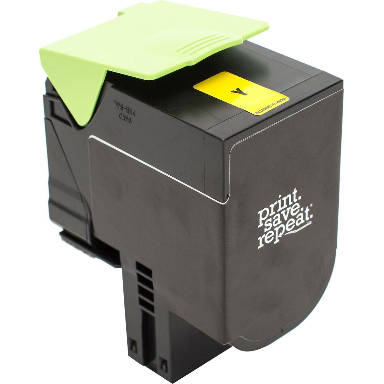 Print.Save.Repeat. Lexmark 71B0040 Yellow Remanufactured Toner Cartridge for CS317, CS417, CS517, CX317, CX417, CX517 [2,300 Pages]