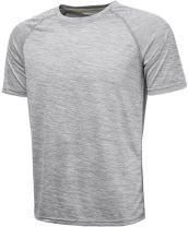 Komprexx Sport T-Shirts for Men - Quick Dry Wicking - Running Tops Training Tee Short Sleeve Sportswear