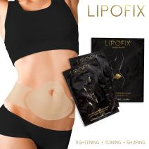 LipoFix Ultimate Body Wrap Lipo Applicator it Works for Inch Loss Firming Contouring Shaping (12 Wraps (Set))