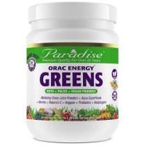 Paradise Herbs - ORAC Energy Greens - Keto + Paleo + Vegan Friendly Green Superfood - 25.6 Ounce 120 Servings