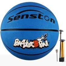 "Senston 27.5"" Youth Basketball for Kids Junior Children Official Size 5 Basketball Luminous Night Ball School Kids Basketball"