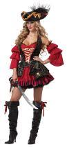 California Costumes Women's Eye Candy - Spanish Pirate Adult